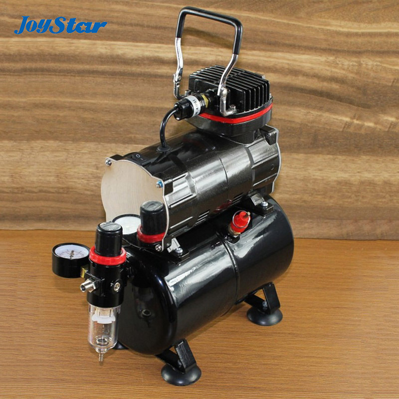 abest mini air compressor with air tank with water filter portable airbrush compressor for. Black Bedroom Furniture Sets. Home Design Ideas