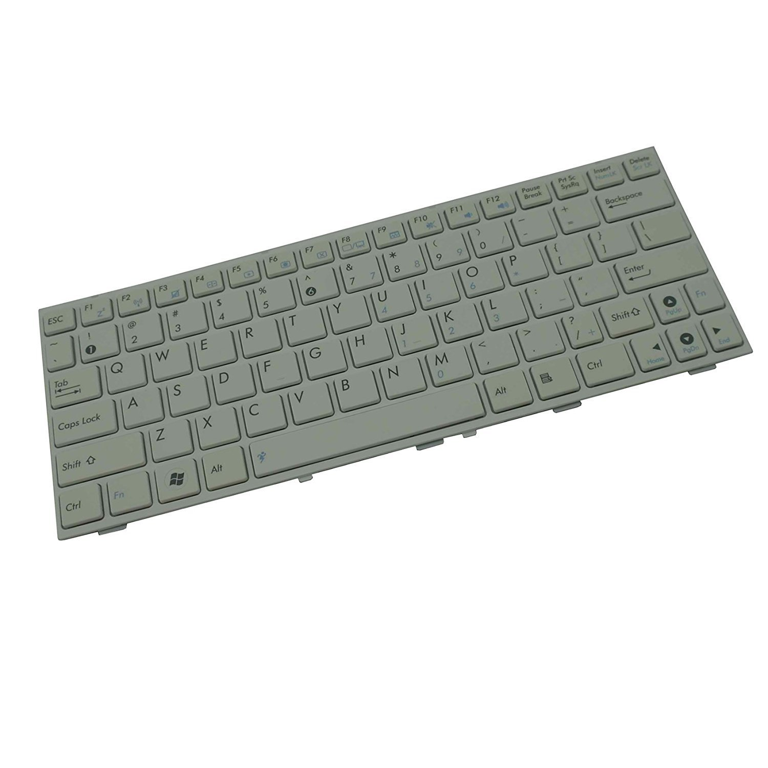 YEECHUN White US Keyboard for ASUS EEE PC EPC 1005PE 1005PEB 1005PE-B 1001P 1001PX 1005p 1005PX 1001PQD 1001PXD 1001HAG T101MT Series New Notebook Replacement Accessoriess