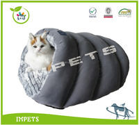 new design cat house,customed pet bed with luxury hair,pv plush cat bed