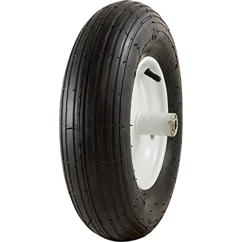 Get Quotations Marathon Tires Pneumatic Wheelbarrow Tire 5 8in Bore 4 80 00