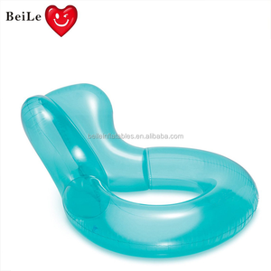 Hot sale colorful water floating inflatable swimming pool chair