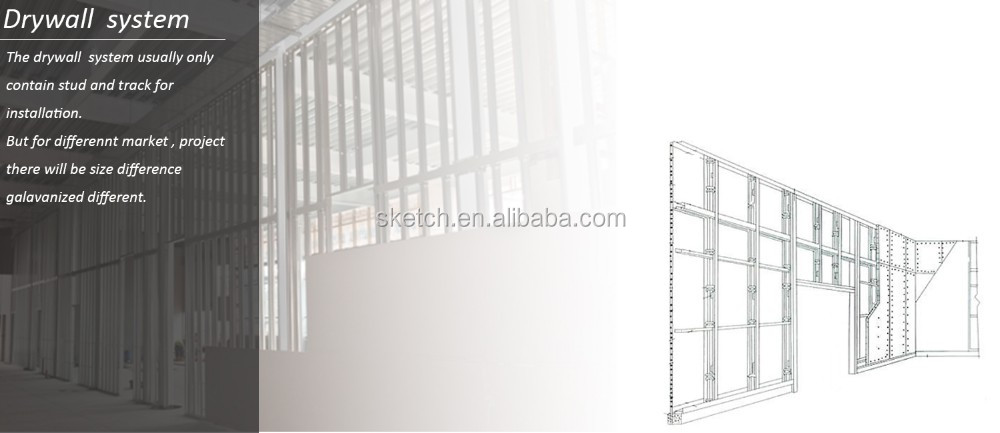 Construction Metal Frame For Drywall Ceiling Profile - Buy ...