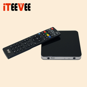 Dual OS 4K Android 6.0 Linux tv box 2.4 G+5G dual band Wifi DLNA Airplay Android iptv set top box TVIP 605
