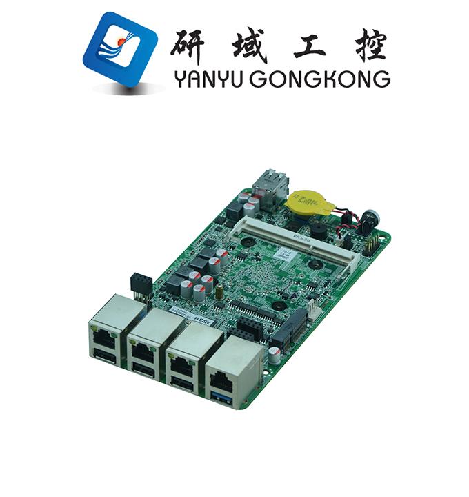 China Pfsense J1900 Mini Fanless Motherboard Mini Pc 3 Port Firewall Board  3*wg1218at Gigabit Ethernet - Buy 3 Port Firewall,3 Port Firewall