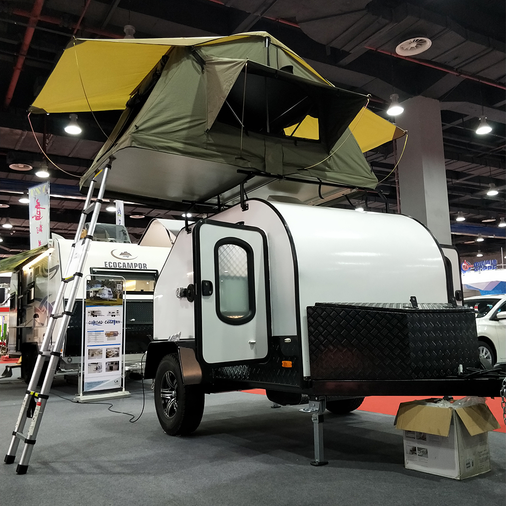Kindle Mini Teardrop Camper Trailer Caravan With Stainless ...