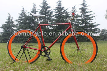 700c specialized aero fixed gear bike made in China