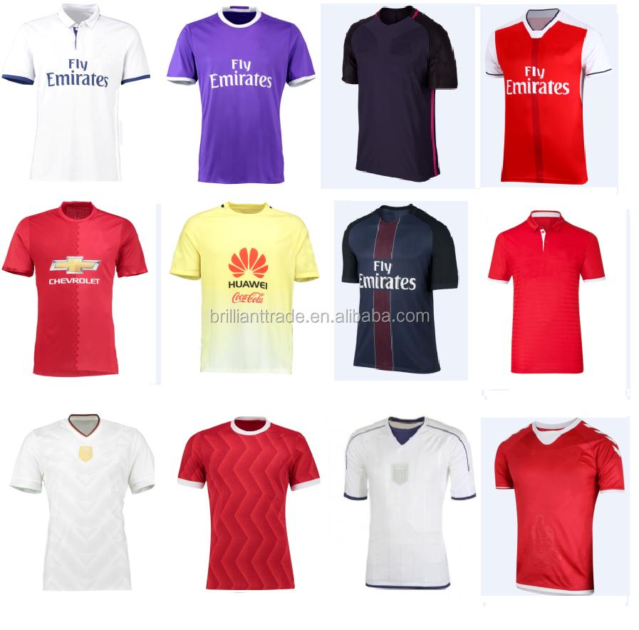 692c3d282 2016 رخيصة الرياضة جيرسي جديد نموذج ، soccer القمصان-ملابس كرة قدم ...