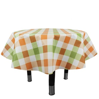 rectangle or round pvc table cloth,disposable printed plastic PEVA table cover,polyester tablecloth rolls