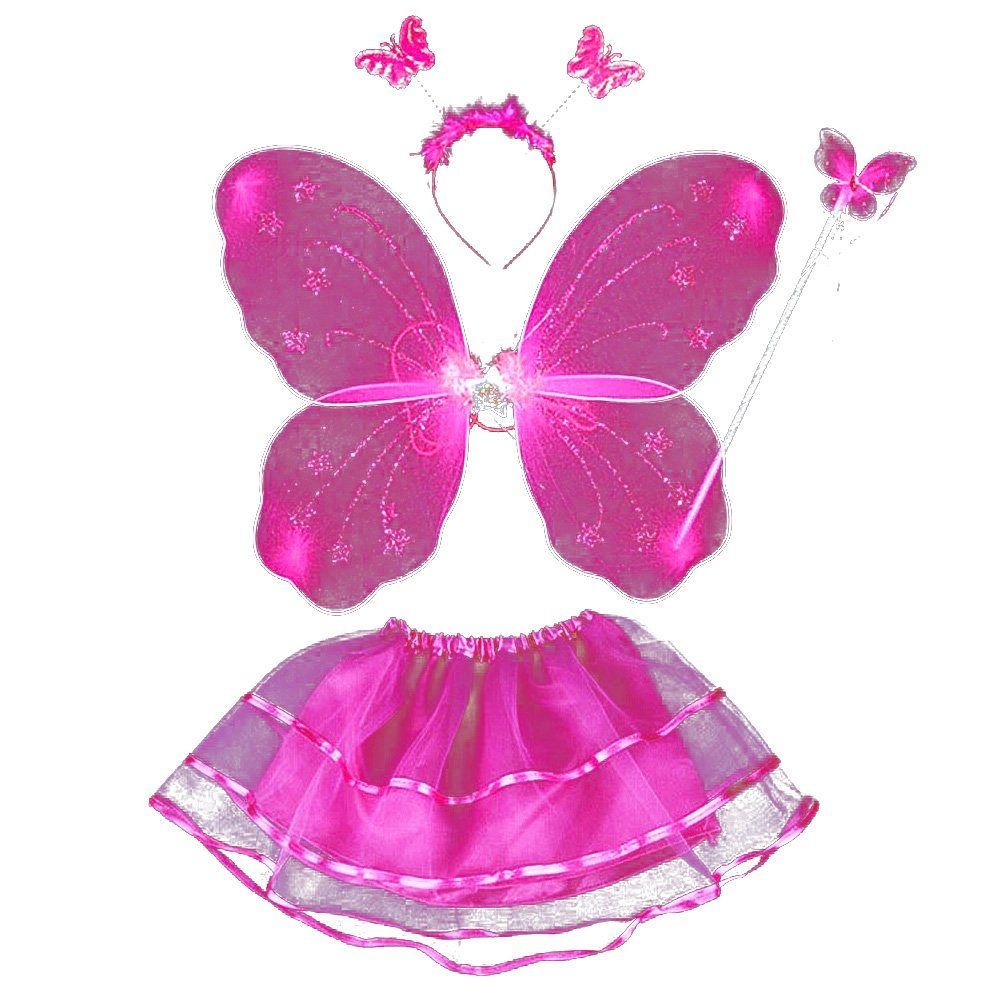 Get Quotations · 4 Piece Fairy Princess Costume Set (Rose Red)  sc 1 st  Alibaba & Cheap Red And Black Fairy Costume find Red And Black Fairy Costume ...