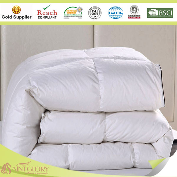 Pure Cotton Satin Duck Down Comforter