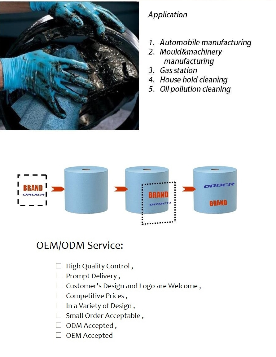 ALL-NEW analytical instruments oil industrial wipes Meltblown polypropylene Cleaning cloth