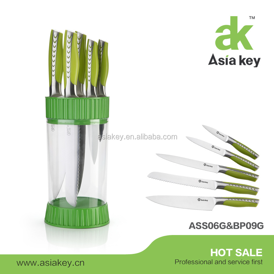 Professional highest quality stainless steel Chinese knife set