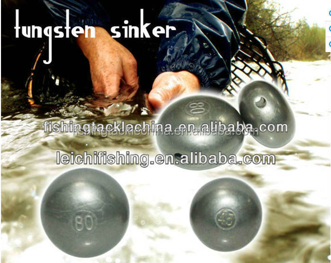 45g, 60g, 80g and 100g Fishing round tungsten sinker