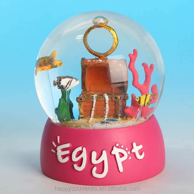 Customize snow crystal ball /water globe/custom made snow globes