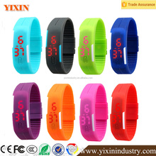 Factory direct supply 2016 new design sport bracelet LED Watch