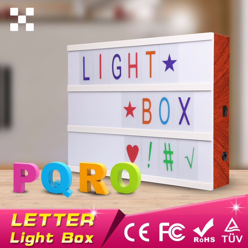 Cinematic Retro Studio Letter Matching Light Box,my cinema lightbox canada,shop light box <strong>sign</strong>