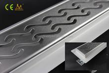 700mm brushed grating luxury surface yard trench drain