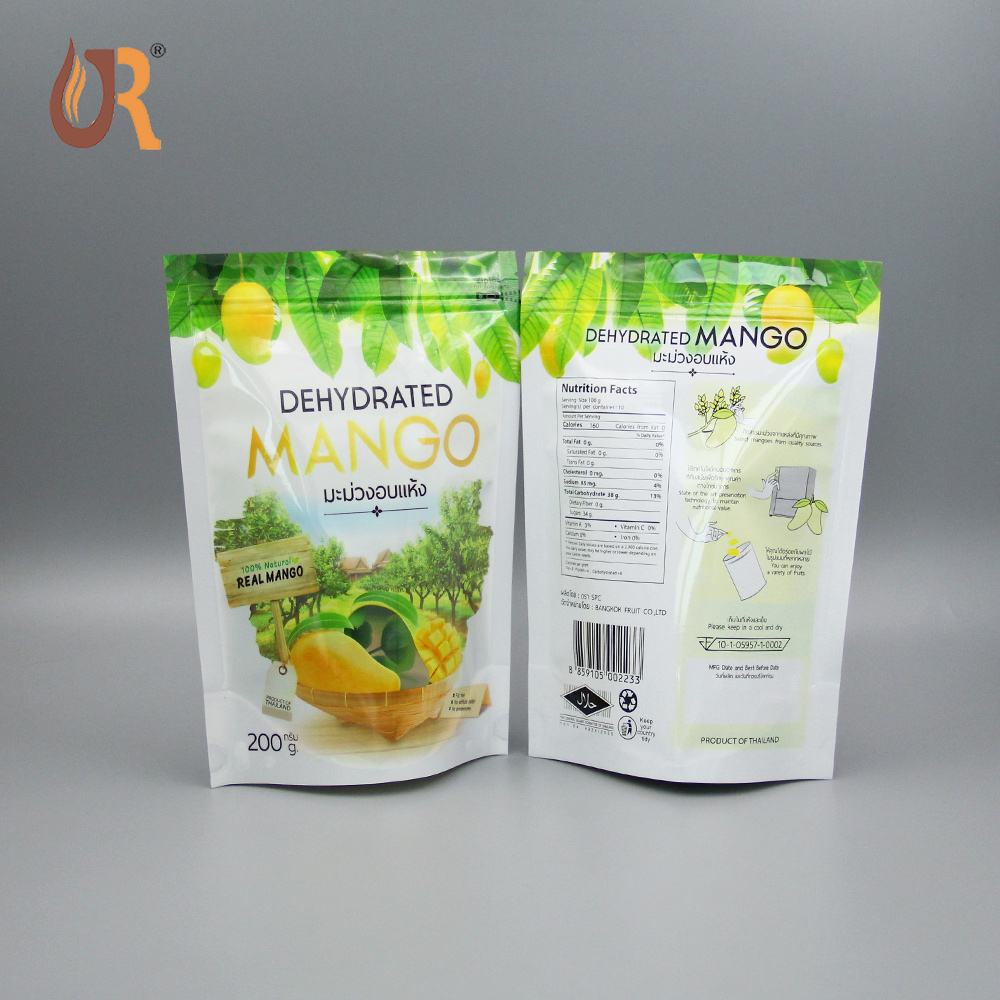 top zip plastic bag/round bottom plastic bag/stand up pouch bag for meat,pork,beef,sea food