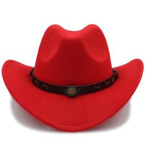 cda6048bbf21f China Wool Cowboy Caps