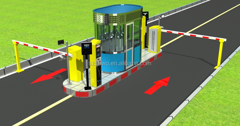 Non Stop Fast Pass Long Distance Reader Car Parking System, View ...
