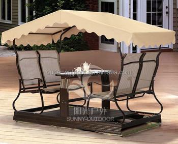 Aluminum Patio Swing Chair Garden
