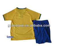 cheap youth soccer uniforms for teams, kid football jersey practice world cup 2014 sport wear baby suit