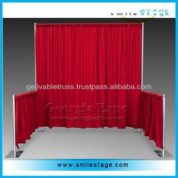 Wedding Ceiling Drape Portable Stage Backdrops
