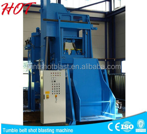 premier advanced precision finishing q32 crawler-type shot blast descaling machine and equipment made in china