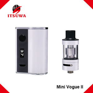 Itsuwa vape cigar electronic cigarette mini Vogue 50w vape pen starter kit e-cigarette vaporizer box