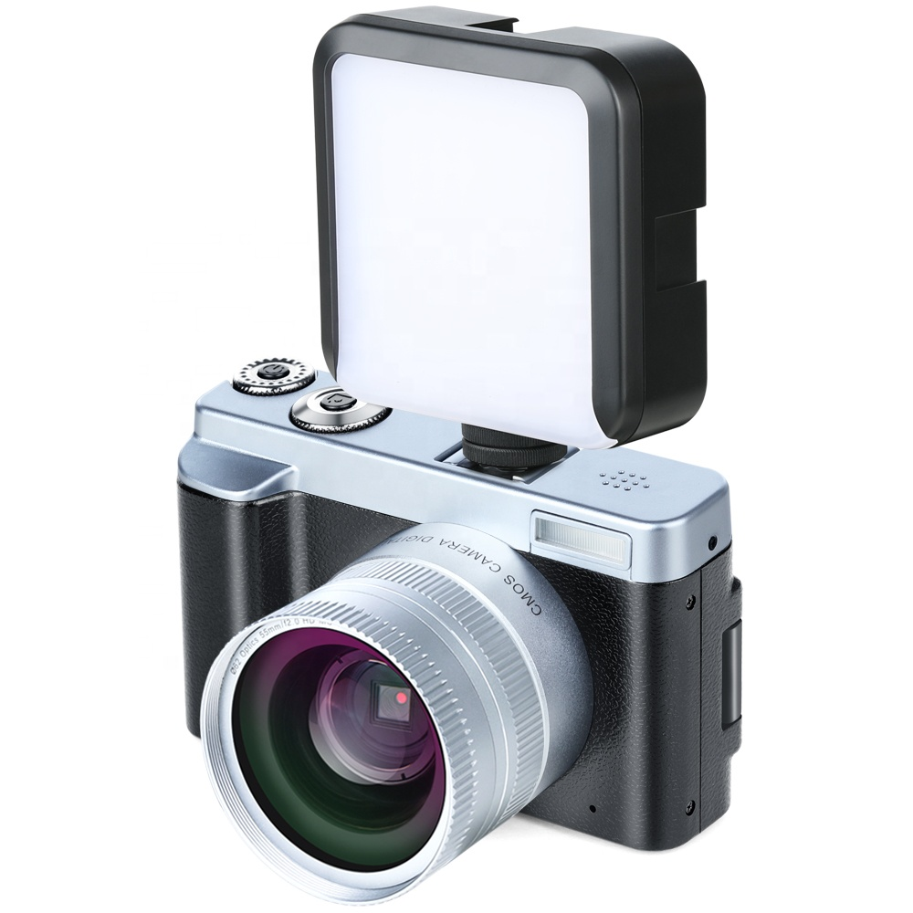 3 inch TFT 1080P cheap chinese dslr camera wifi with portable fill light фото