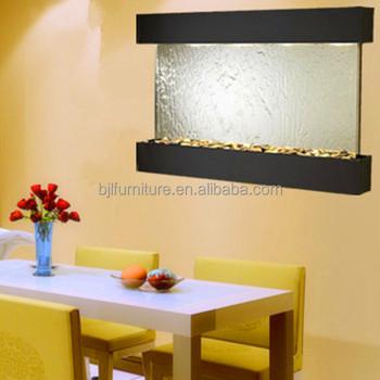 Indoor Decorative Wall Mounted Mini Glass Waterfall - Buy Indoor ...