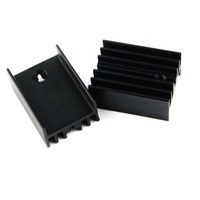 OEM CNC turning high quality custom anodized aluminum heat sink for auto parts