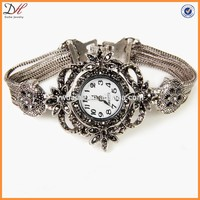 Fashion Crystal Lady Watch, OEM Factory China Classical Vintage Wrist Watch for Women