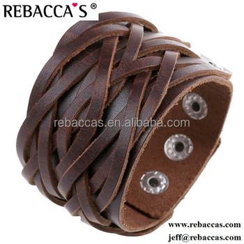 Rebacca S Wide Soft Leather Cuff Bracelets For Man Bracelet