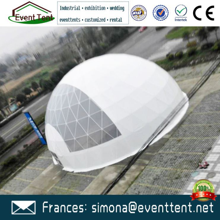 China Manufacture heavy duty tent geodesic dome wind load for sale promotion