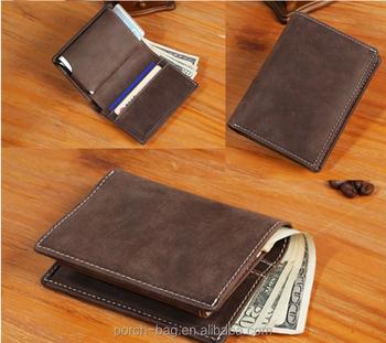 4d14717aa30c Rfid Blocking Vintage Handmade Metal Card Case Mens Wallet Italian Slim  Bifold Genuine Leather Wallet - Buy Genuine Slim Bifold Leather  Wallet,Genuine ...