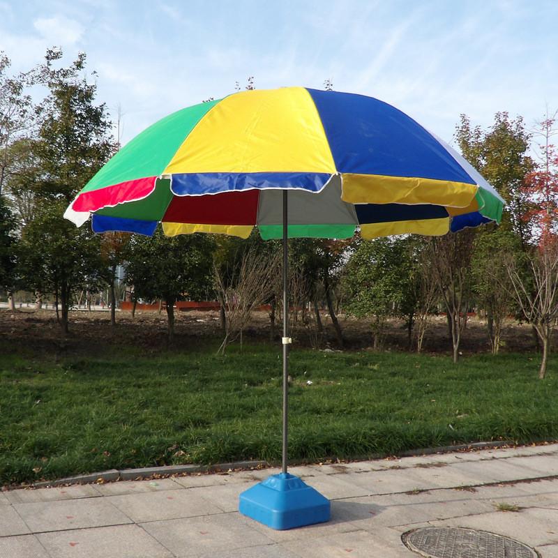 playa de gran tamao paraguas con logotipo personalizado parasol umbrella - Sombrillas De Playa Grandes