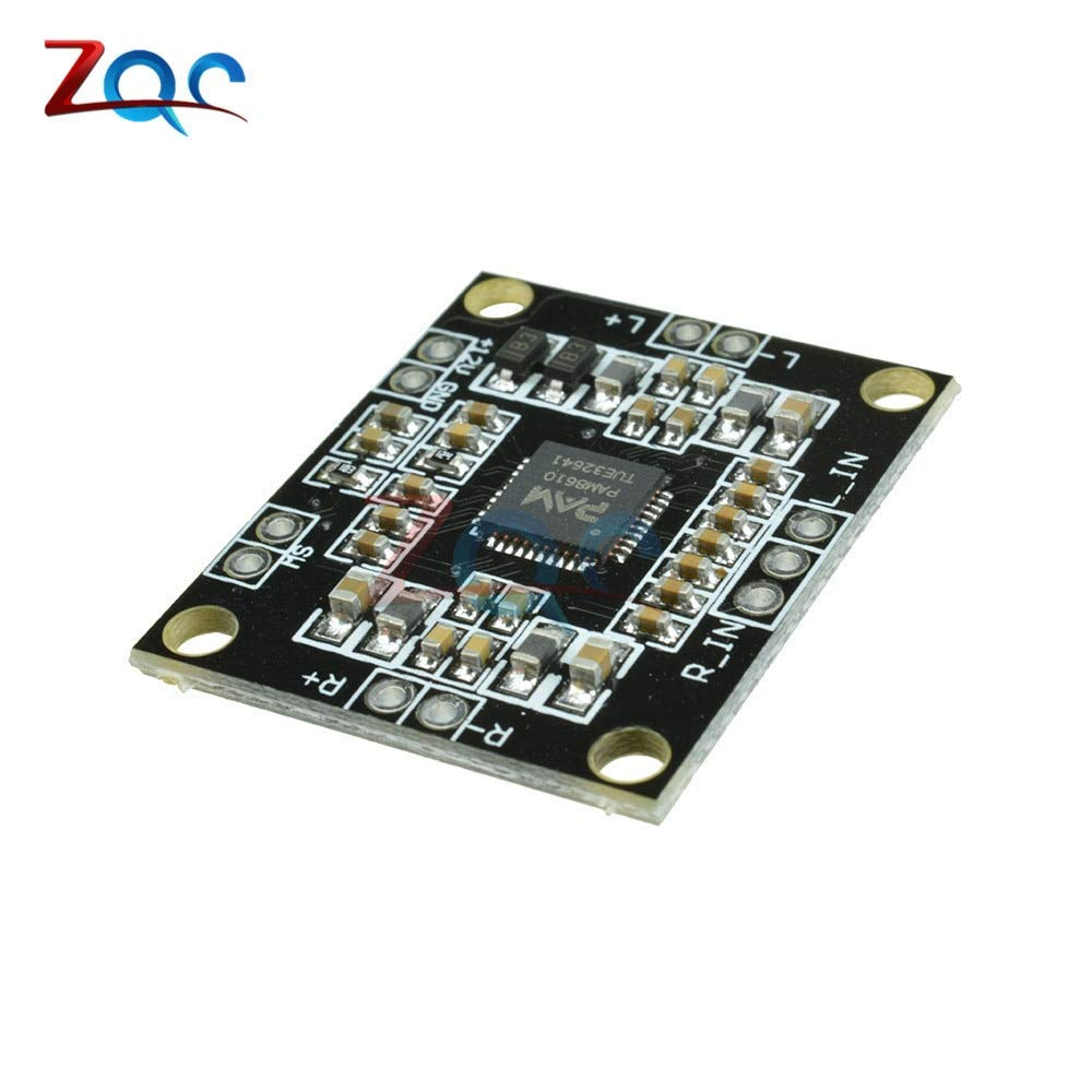 PAM8610 2x15W Power Amplifier Board Digital Two-Channel Dual Channel Stereo Class Power Amplifier Board Miniature Module 7-15V