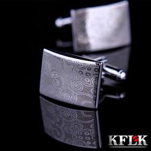 KFLK font b Luxury b font Laser pattern gemelos font b shirt b font cufflinks for