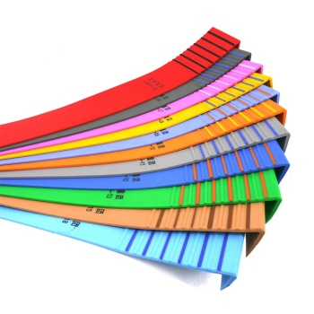 colorful indoor non-slip vinyl rubber stair treads