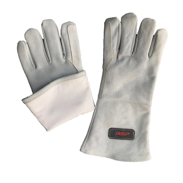 4 Cuff And Kevlar Lock Stitching Tillman Medium Pearl Top Grain Kidskin Unlined Premium Grade TIG Welders Gloves With Straight Thumb