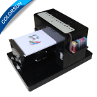 Multicolor Flatbed Printer A3 Tshirt Printing in T-shirts