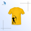 Top quality custom made polo t shirt/t-shirt with never fade out printing (OEM)