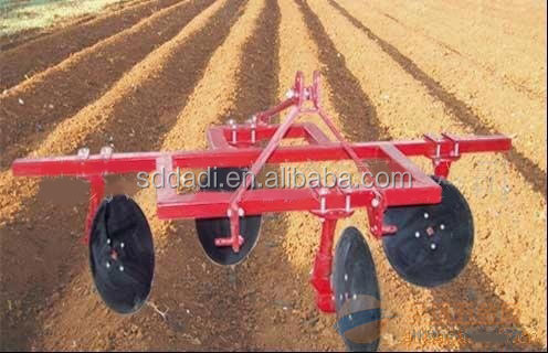 1 row and 2 rows disc ridger plow