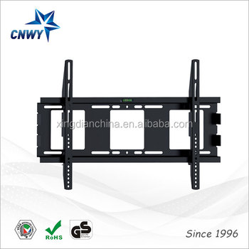 Fixed Vertically Adjustable Bed Tv Wall Mount For 32 To 65 Inch