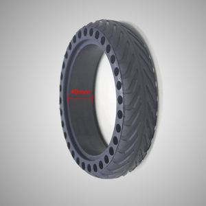10 Inch 50mm Airless Scooter Tires Tubless Rubber Tire