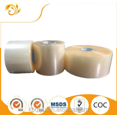 Bopp water acrylic adhesive over lamination film roll for self-adhesive labels