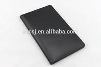 High quality pu leather menu folder with multiple pockets