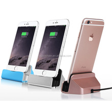 5V 1A aluminum dock charger charging dock for iphone and android smartphone