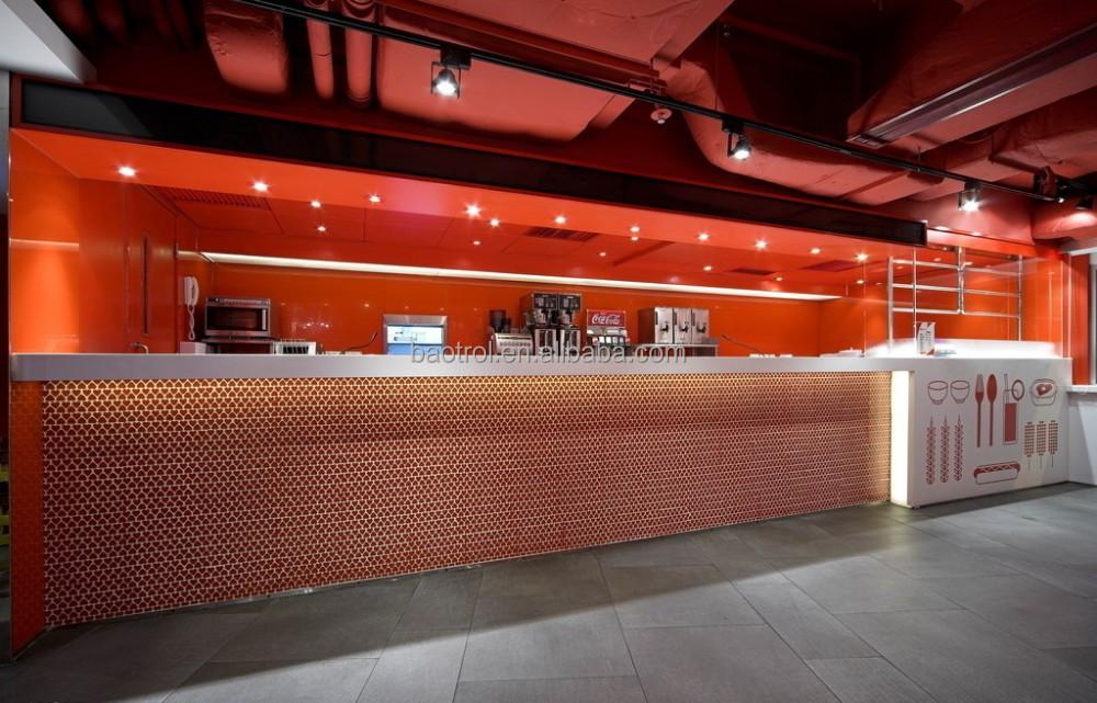 Fant stica comida rapida recepcion restaurante bar - Mostradores de bar ...